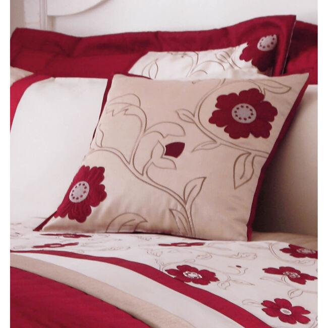 Alicia Red Cushion 45cm x 45cm