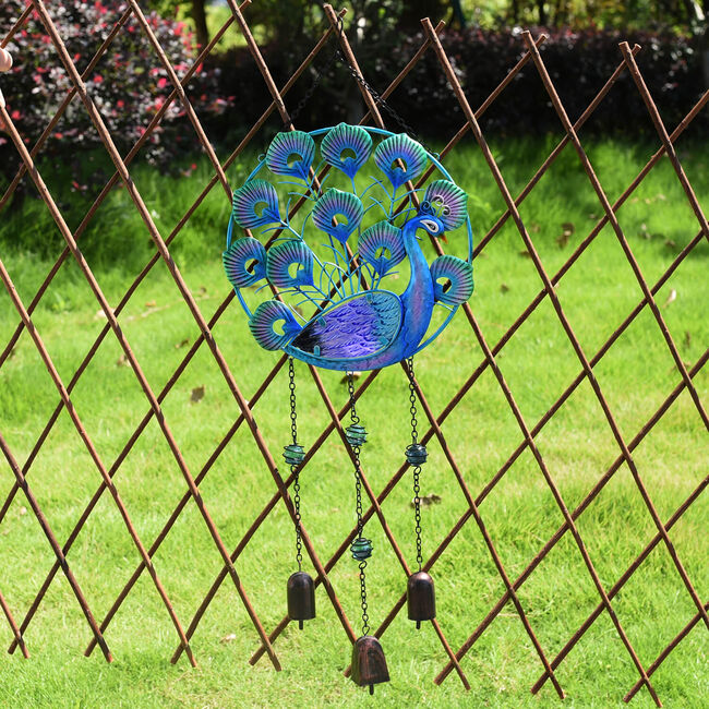 Peacock Garden Wind Chime