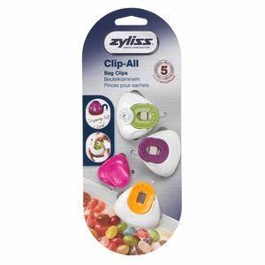 Zyliss Clip-All Medium Bag Clips