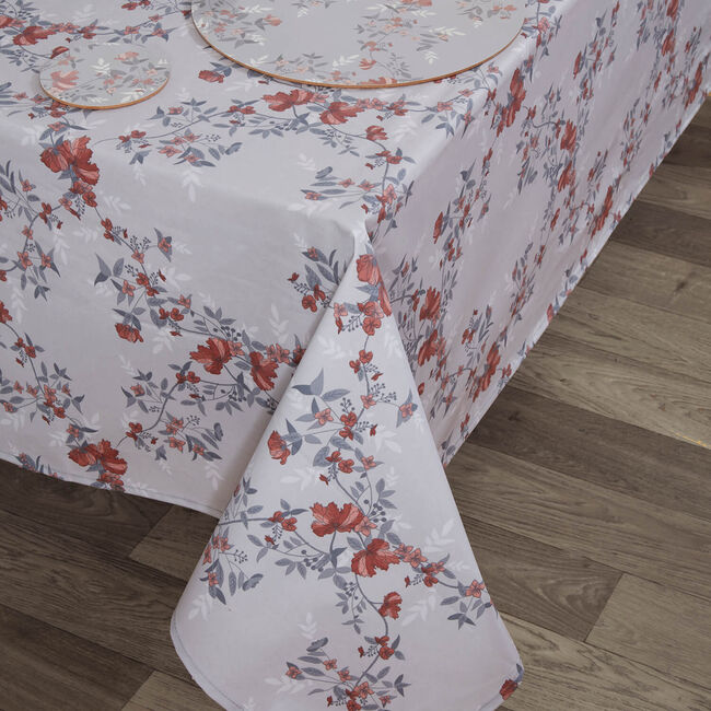 Lace Floral Tablecloth 160 x 230cm