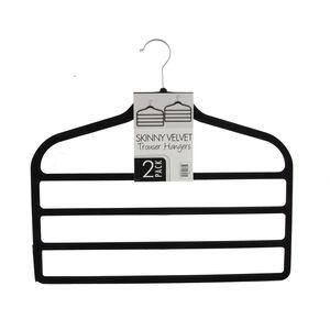 Skinny Velvet Trouser Hanger 2 Pack