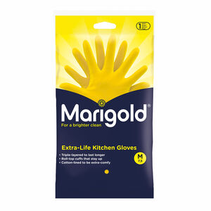 Marigold kitchen Gloves Medium