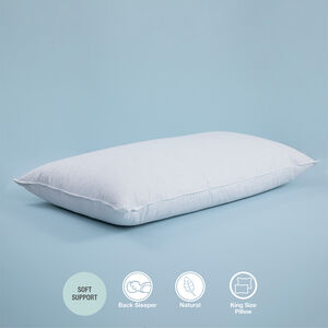Luxe Duck Feather & Down King Pillow
