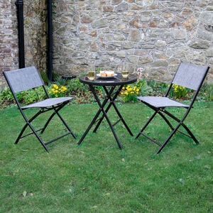 Sierra Folding Bistro Set 3 Piece