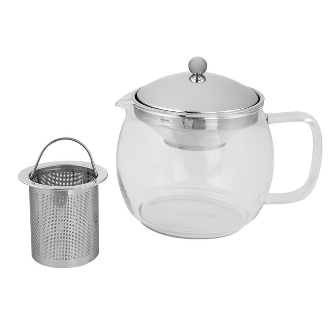 Polder Glass Teapot 1.2L