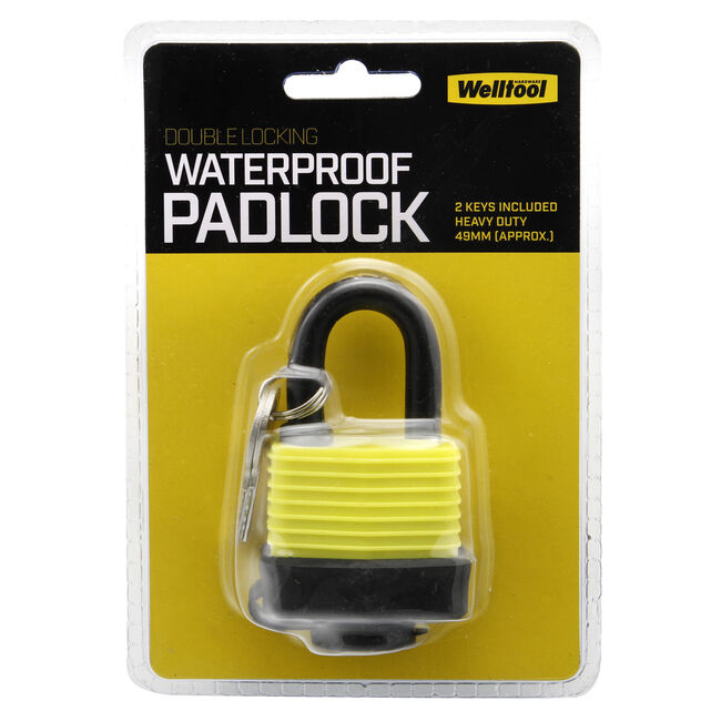 Double Locking Waterproof Padlock