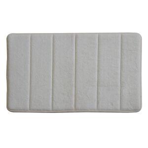 Memory Foam Bath Mat Cream 50cm x 80cm