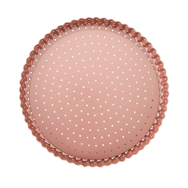 Wiltshire Round Tart Pan 23.5cm - Rose Gold