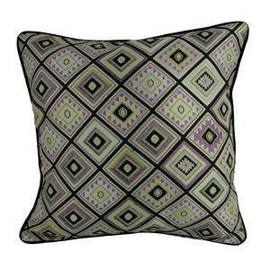 Patina Diamond Cushion 45cm x 45cm