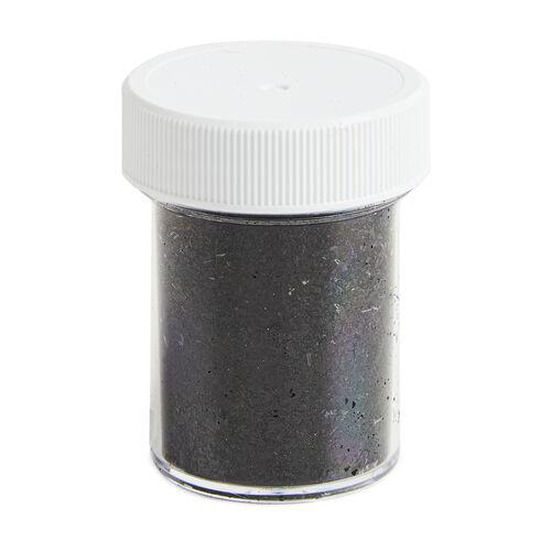 PME Edible Black Glitter Flakes 7.1g