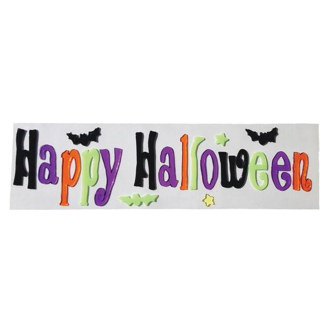 Halloween Gel Sticker 50cm