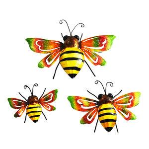 Bees Garden Wall Art Set of 3