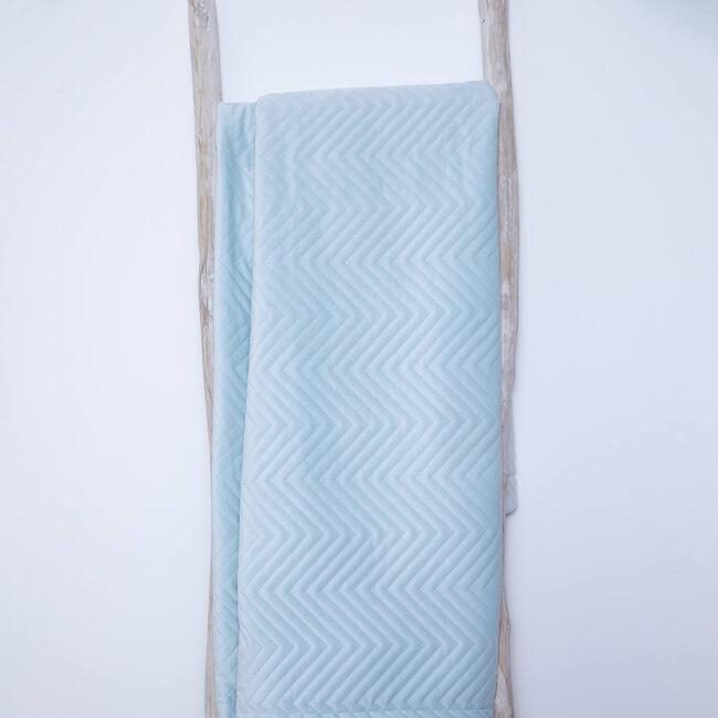 Triangle Stitch Throw 150x200cm - Mint
