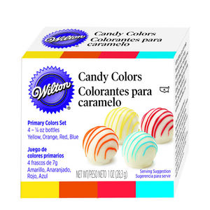 Wilton 4Pk Colour Candy Set