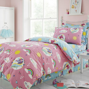 SINGLE DUVET COVER Unicorn Magic