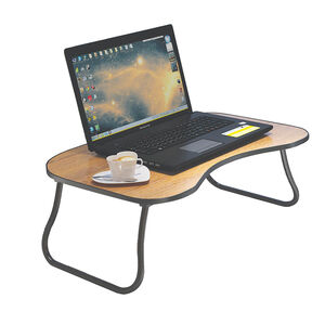 Folding Tray Table Black