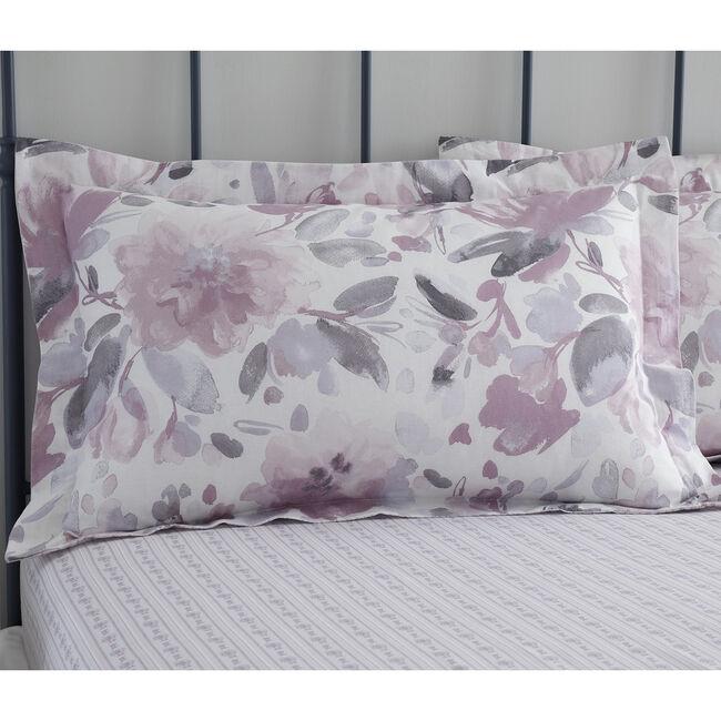 Rosemary Oxford Pillowcase Pair - Mauve