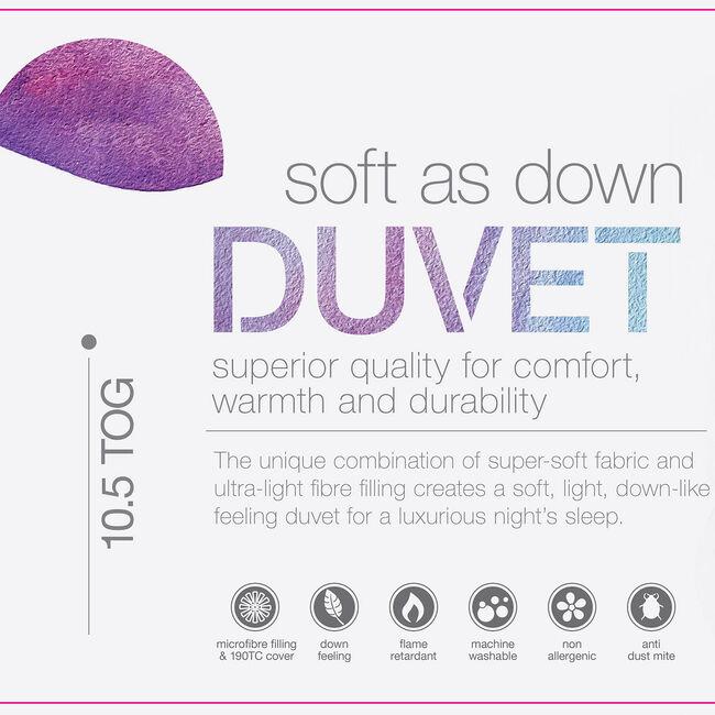 DOUBLE SOFT AS DOWN Duvet
