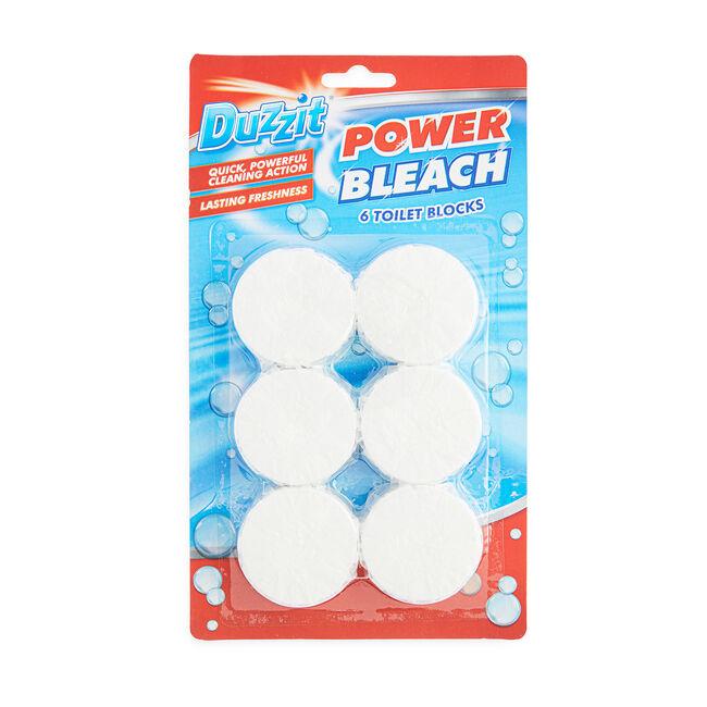 Power Bleach Toilet Block 6 Pack