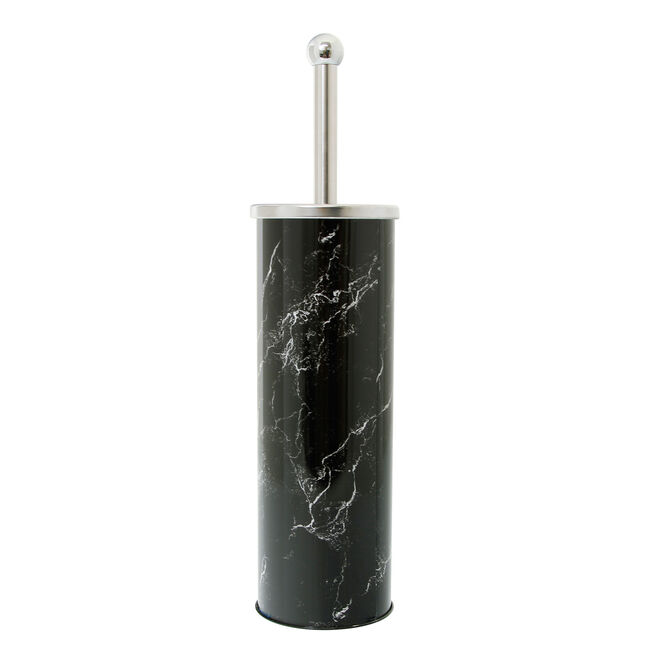 Marble Effect Toilet Brush and Holder