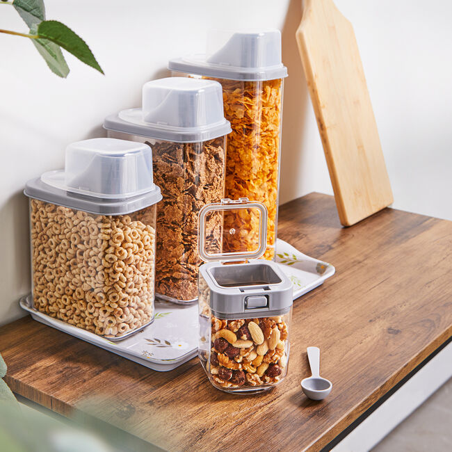 Felli Flip-Up Storage Container With Scoop 0.45L