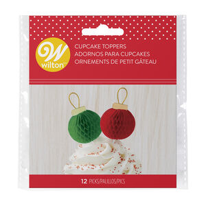 Wilton Bauble Stick Cake Toppers