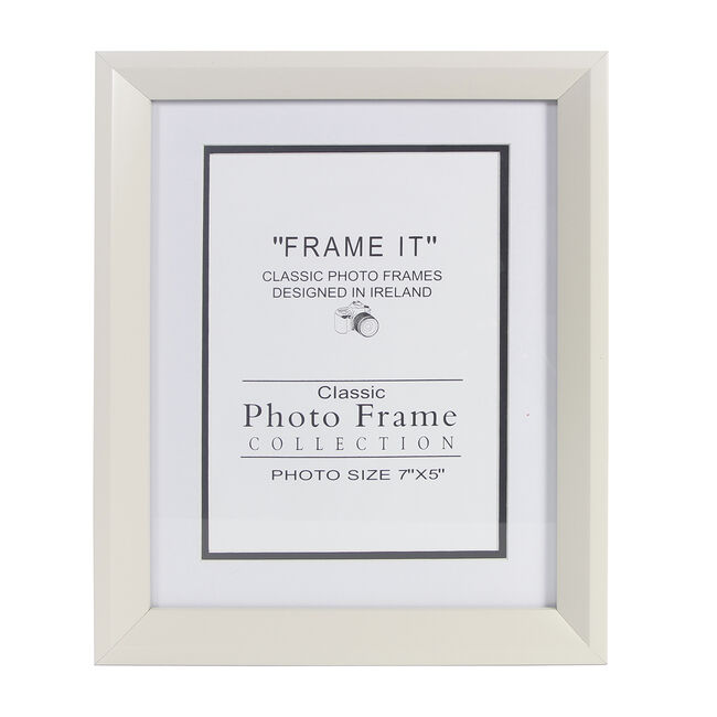 Cream Photo Frame 5x7""