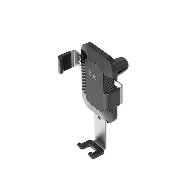 Budi Black Square Universal Air Vent Car Mount