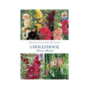Hollyhock Alcea Mixed
