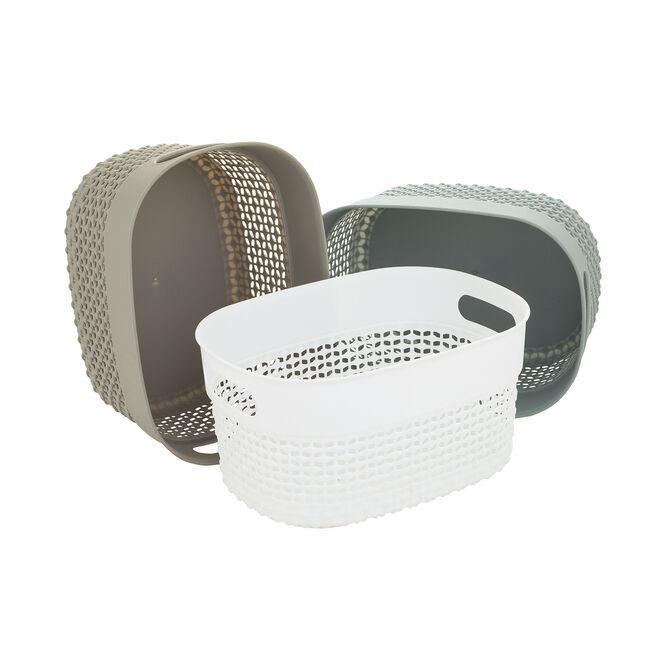 DOT Charcoal Storage Basket 3.5L