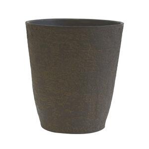 Aged Lite Sandal Wood Plant Pot