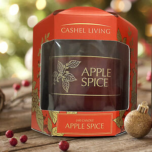 Cashel Living Apple Spice Jar Candle