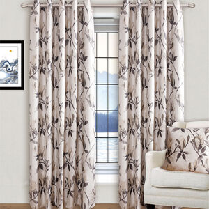 MODERN FLOWER NATURAL 66x90 Curtain