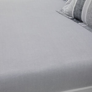 RONAN GREY Single Fitted Sheet