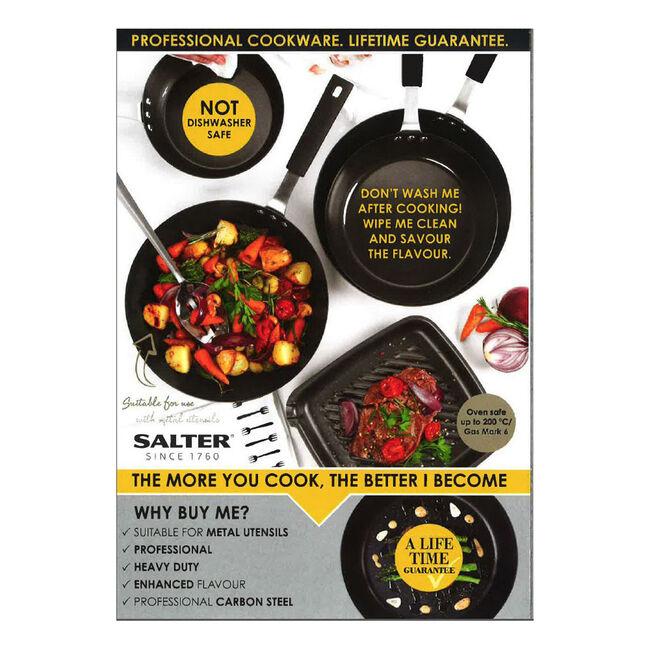 Salter Black Pan For Life 24cm
