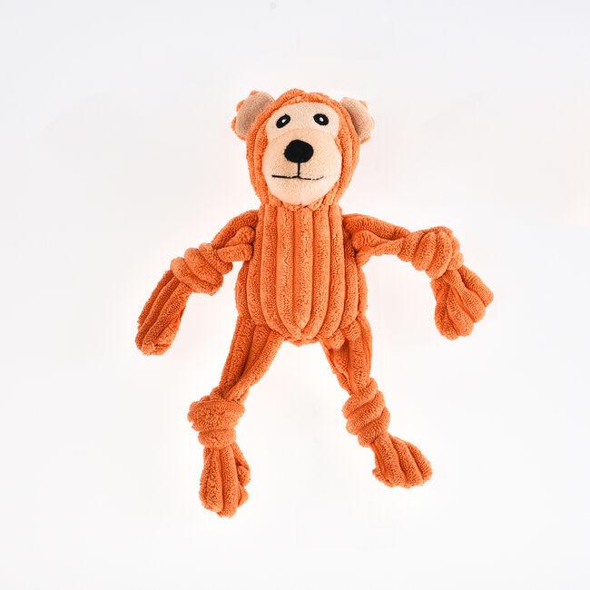 Plush Corduroy Monkey Dog