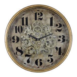 Brass Cogs Clock 47CM