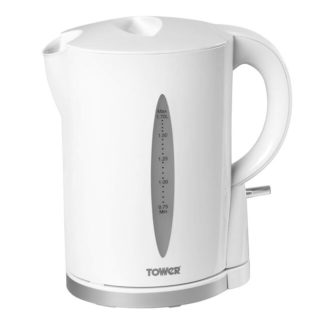 Tower Jug Kettle 1.7L - White