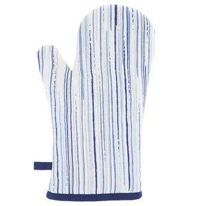 Stripe Navy Single Oven Glove