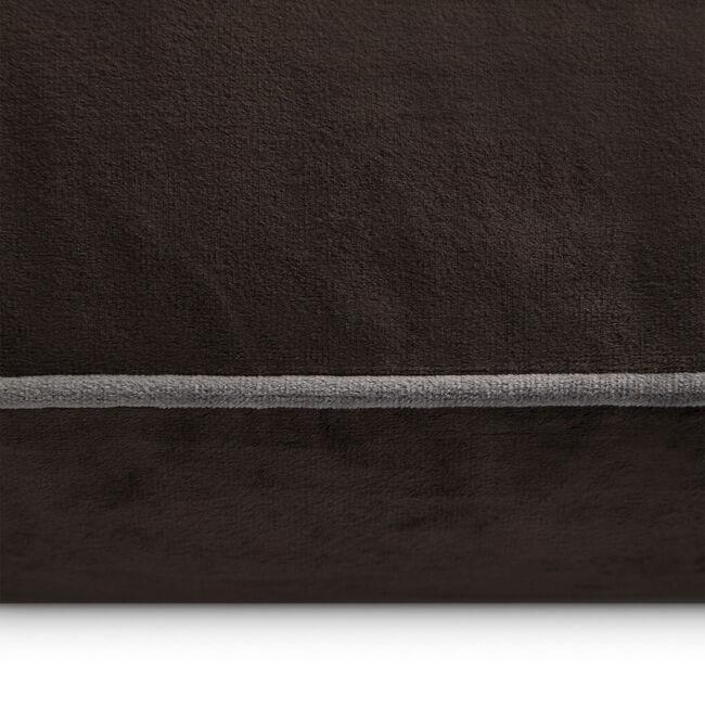Naomi Cushion 45x45cm - Chocolate
