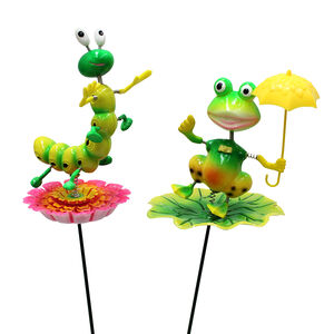 Frog/Worm Decorative Garden Stake