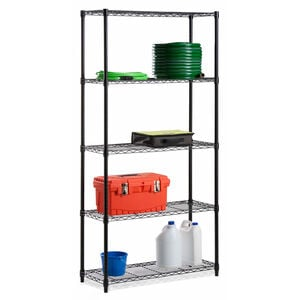 5 Tier Wire Shelf Storage Rack