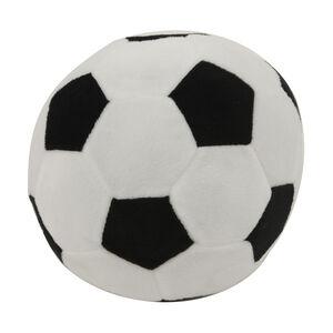 Football Cushion Black & White