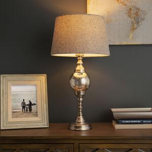 Silver Mercury Ball Table Lamp