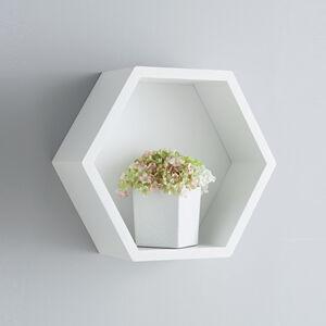 Rook Hexagon Wall Shelf