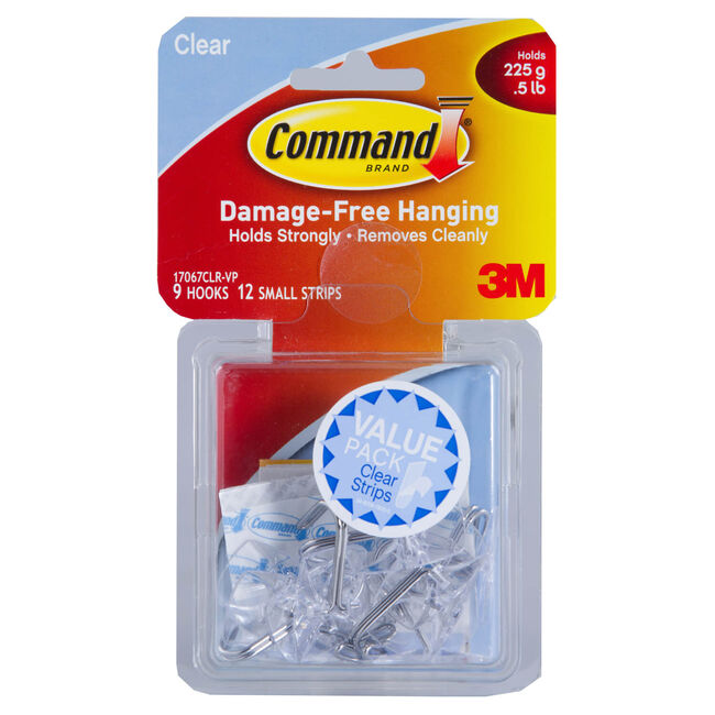 Command Clear Small Wire Hooks Value