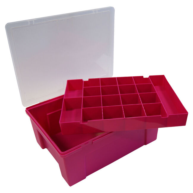 Organiser Fuchsia with Removable Tray