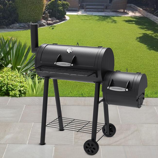Bighorn Smoker  Charcoal Barbecue