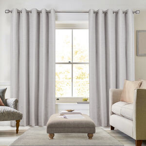 BLACKOUT & THERMAL STRIPE GREY 66x54 Curtain