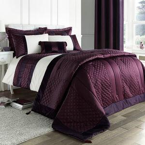 Classic Velvet Plum Bedspread